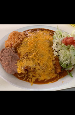 2 Smothered Enchilada Dinner